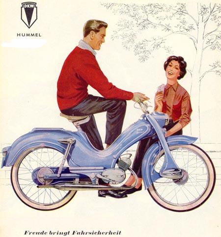 dkw hummel zweirad union mopeds. Black Bedroom Furniture Sets. Home Design Ideas